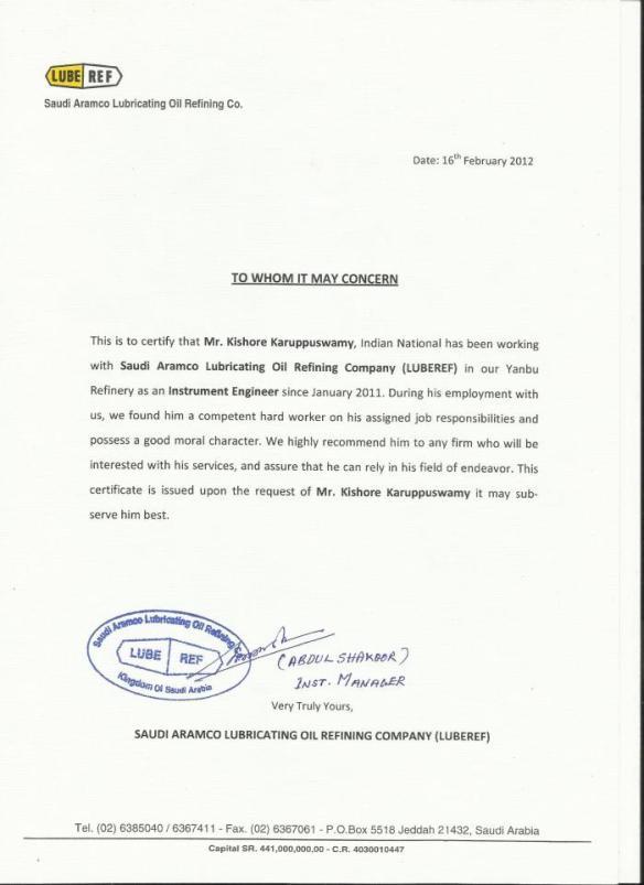 aramco-exp-certificate