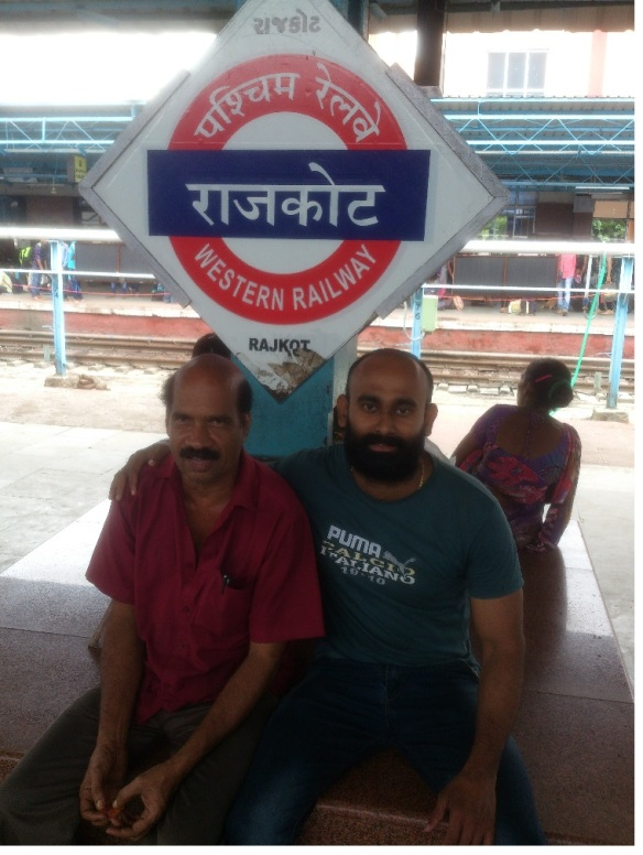 rajkot railway station along with pantry chef