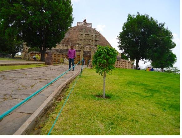 sanchi stupa,mP