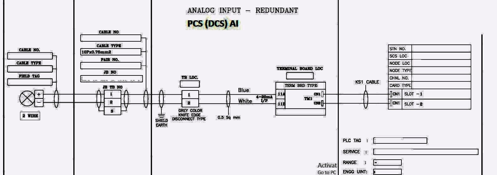 Instrument Loop Diagrams