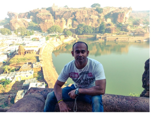 badami caves,karnataka