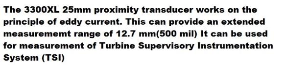 bn 3300XL 25 mm proximity transducer descript k