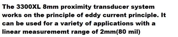 bn 3300XL 8mm proximity transd descrip k